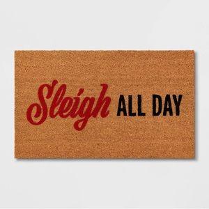 Sleigh All Day Doormat